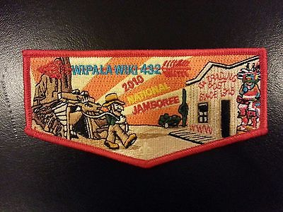 Wipala Wiki Lodge 432 National Jamboree 2010 OA Flap