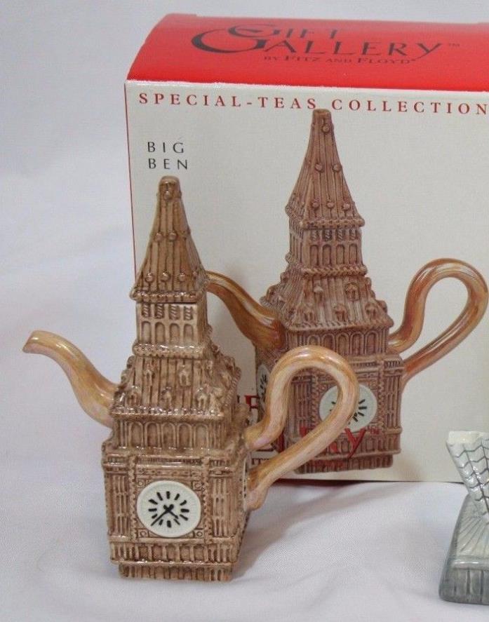 Fitz & Floyd Big Ben Teapot special teas collection