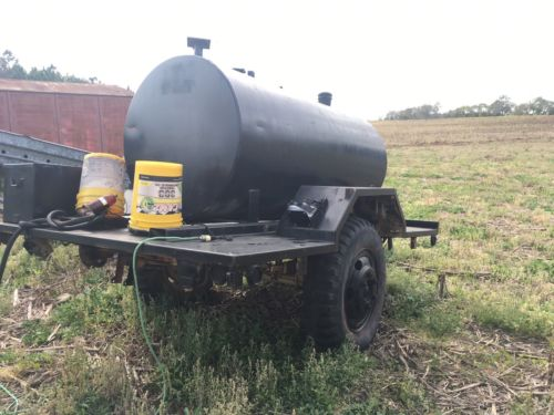 500 Gallon Fuel Tank Steel With Trailer
