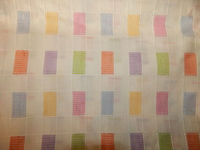 Linen colored rectangles pastel white 2 yards