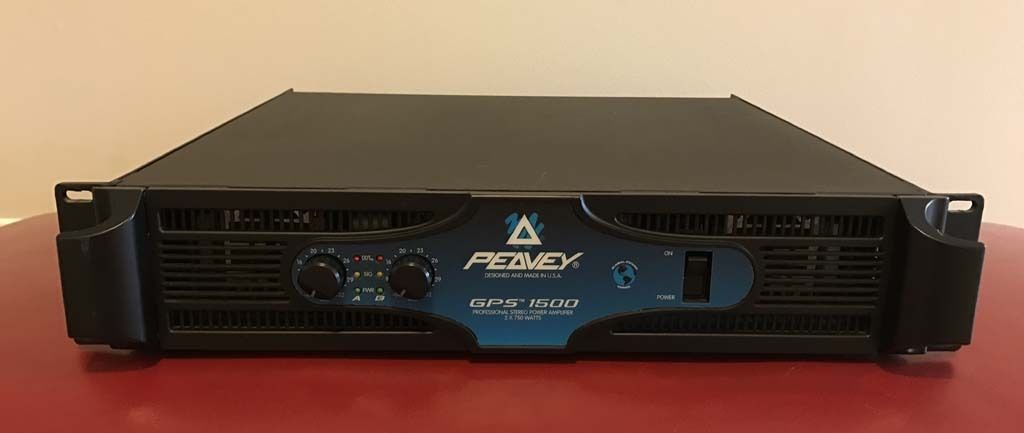 Peavey GPS 1500 Professional Power Amp - 1,500 Watts - Excellent Condition