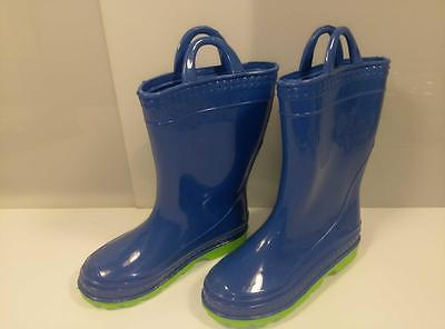 BOOTS Size 12 Kids/Childrens MUD Rain RUBBER Galoshes PUDDLE Stomper Rain Boots