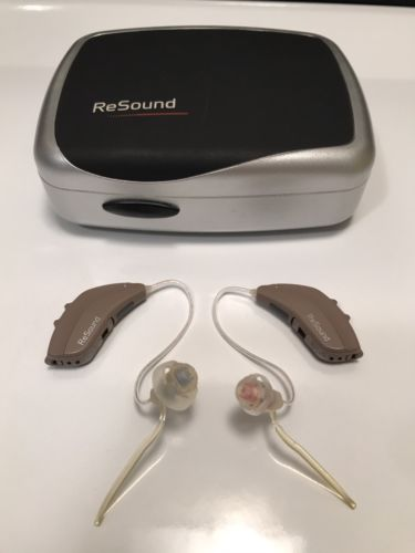 Pre-Owned AL562-DVIRW hearing aids w/Case