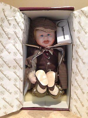 Ashton Drake - Little Sherlock Holmes - Born To Be Famous Porcelain Doll