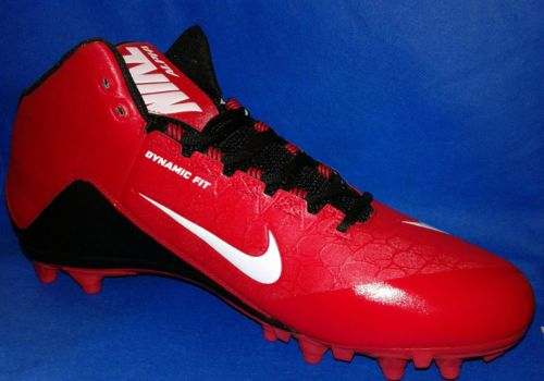 NEW NIKE ALPHA STRIKE 2 2/4 TD SIZE 13.5 FOOTBALL CLEATS