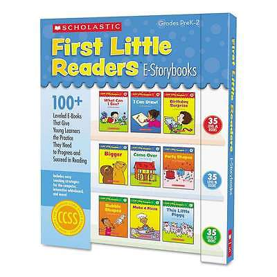 Scholastic First Little Readers Levels A, B, C, Grades Pre K-2 078073522330
