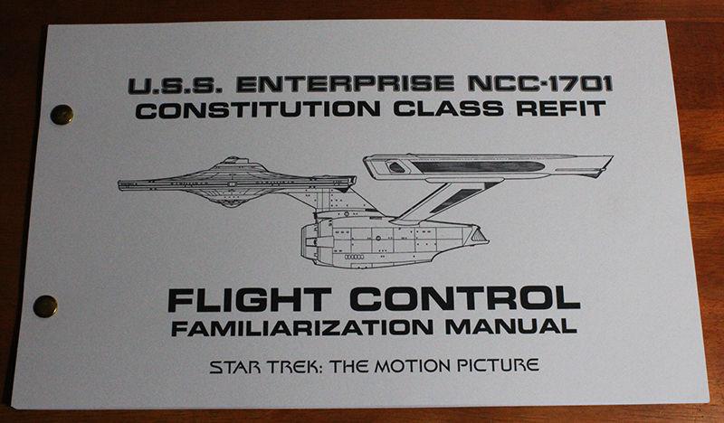 Star Trek TMP NCC-1701 Refit Enterprise Flight Operations Manual