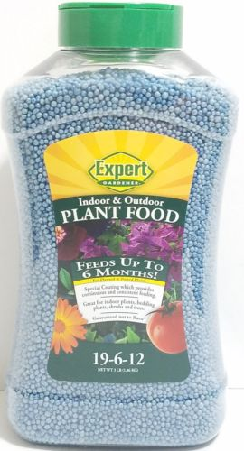 New Expert Gardener Indoor & Outdoor Plant Food 19-6-12 Formula 3lb