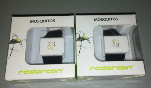 Radarcan Mosquito Repellent and Protection. Black Band new  .