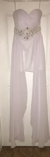 Prom / Bridal / Wedding / Party / Evening Dress / Elegent / White / Size 2