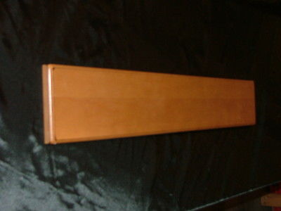 Kraftmaid Burnished Ginger Maple Kitchen Cabinet Filler Overlay FOL6.36 Molding