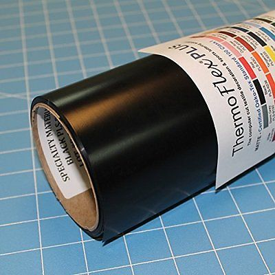 Specialty Materials ThermoFlex Plus Black PLS- 9236 15