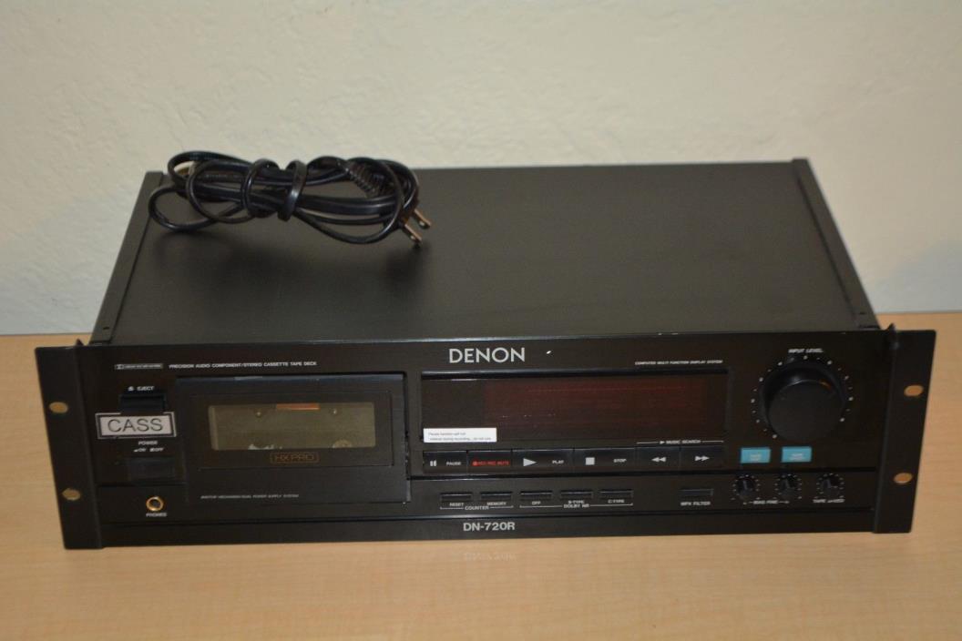 DENON DN-720R Precision cassette Tape Deck