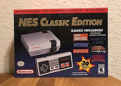NES Classic Edition Nintendo Mini Console Brand New and In-Hand!
