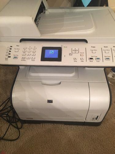 HP Color LaserJet CM1312nfi MFP Printer WOW Only 4,545 pages w/ toner! CC431A