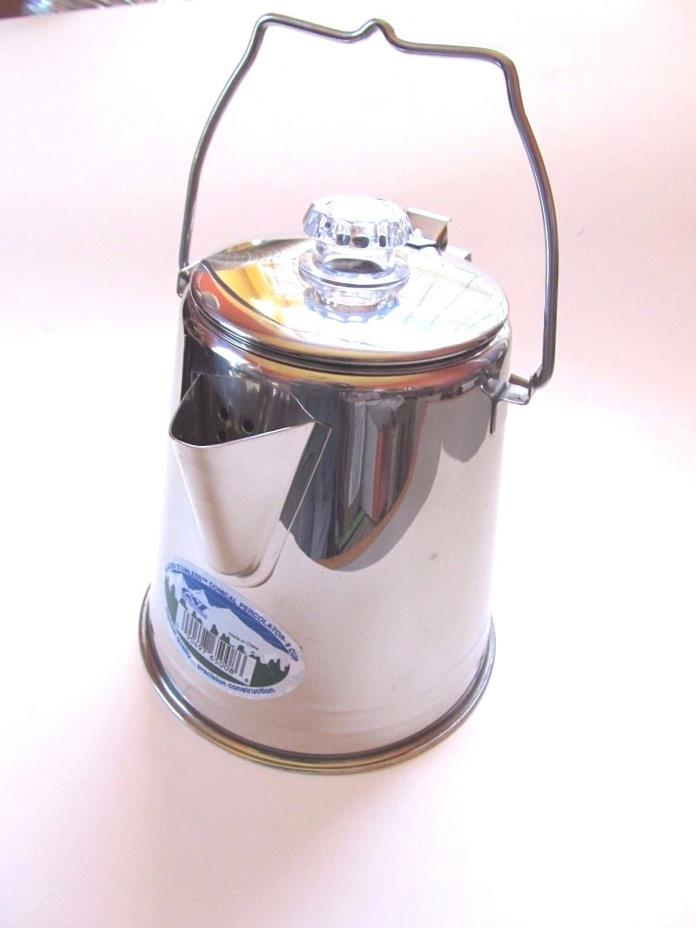 Stainless Steel Percolating Coffee Pot For Sale Classifieds
