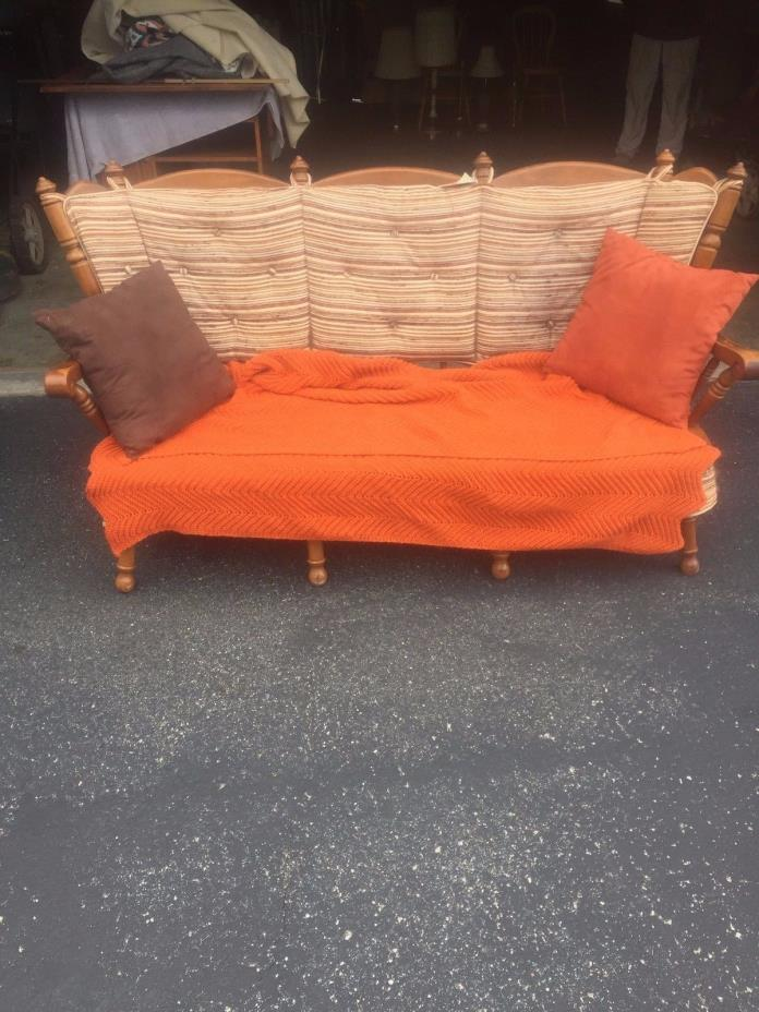 Vintage Tell City Couch Sofa - RARE!