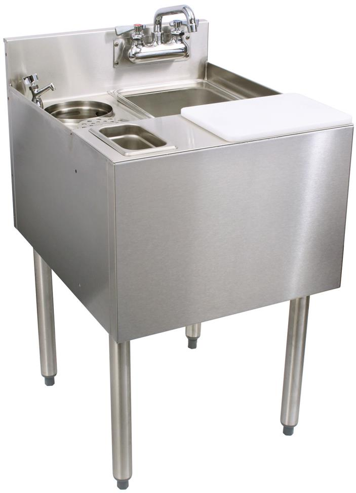 Glastender C-MFT-20 Stainless Steel Mixology Unit 20