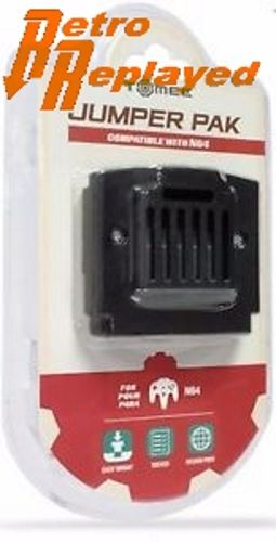 NEW JUMPER PAK FOR NINTENDO 64 - N64 CONSOLE RAM (MEMORY PACK) FREE SHIPPING