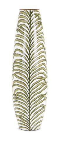 Palm Handpainted Large Vase 14642