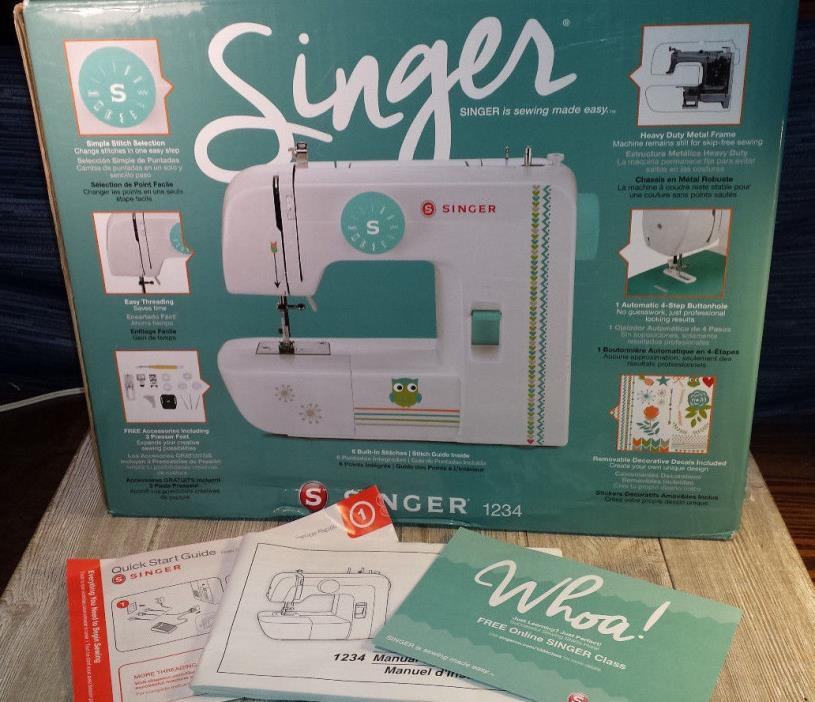 Singer Sewing Machine 1234