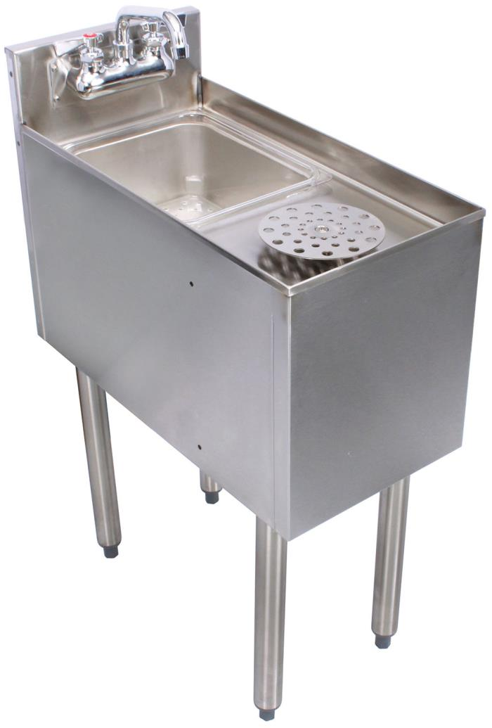 Glastender C-MRS-12 Stainless Steel Mixology Unit 12
