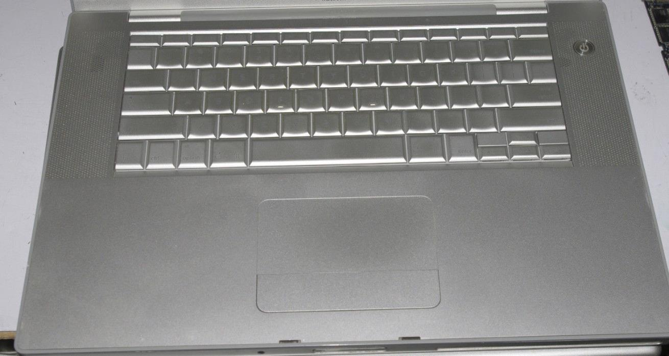Apple Macbook pro 2007 laptop palmrest and keyboard