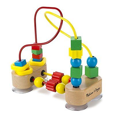 New Kitchen Bar Melissa & Doug First Bead Maze - Wooden Educational Toy