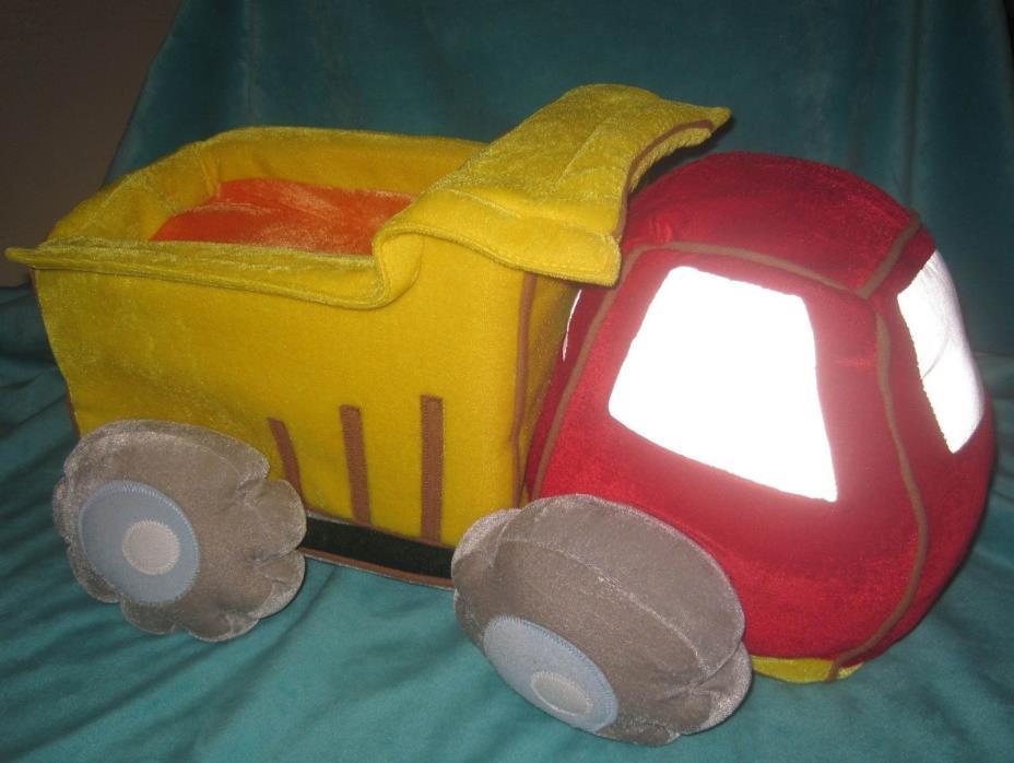 Wonder Kids Plush Dump Truck Construction Bedding Throw Pillow Decor