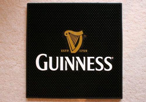 Guinness Bar Mat Square Irish New never used