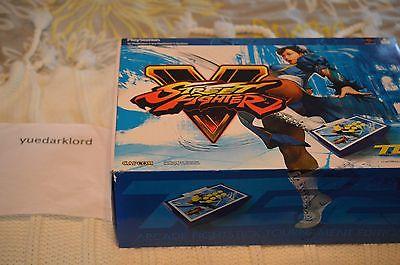 Mad Catz Street Fighter V Chun Li Arcade Fight Stick TE2 PS4/PS3 **Used** RARE