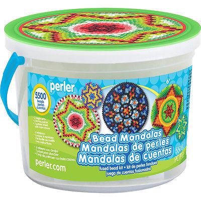 Perler Fused Bead Bucket Kit-Mandalas