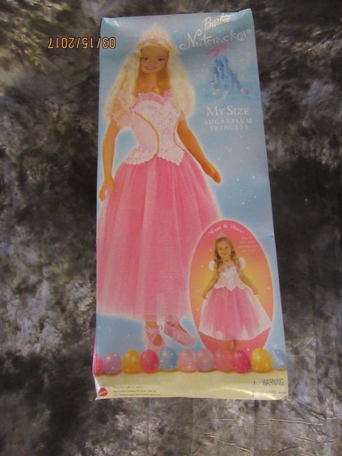 Barbie Sugarplum Doll My size barbie 3 feet tall Nutcracker