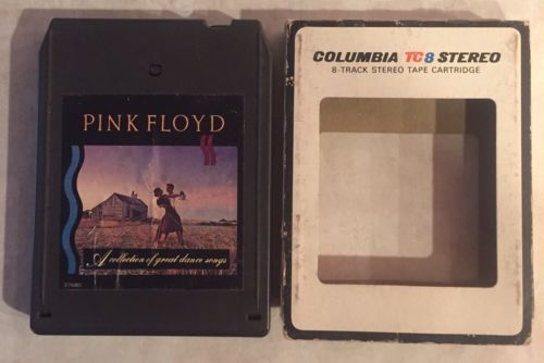 A Collection Of Great Dance Songs Pink Floyd 8 track tape tested