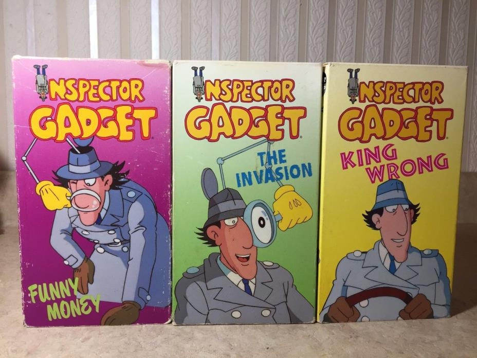 inspector gadget 2 vhs   for sale classifieds
