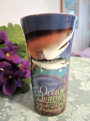 OCEAN JOURNEY - TENNESSEE AQUARIUM, CHATTANOGA -- ORIGINAL CERAMIC  SHOT GLASS