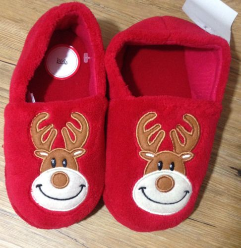 NWT Kids size 13/1 M slippers NEW novelty