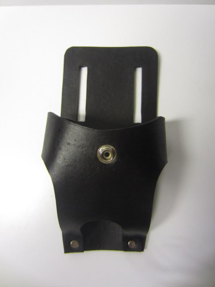 Ghostbusters prop black leather PKE holster