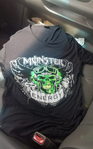 Monster Energy T Shirt Womens Size Large