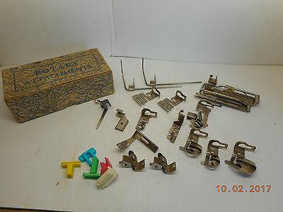 Vintage Sewing Machine Attachments: Singer/Greist/Sewmor/MORSE
