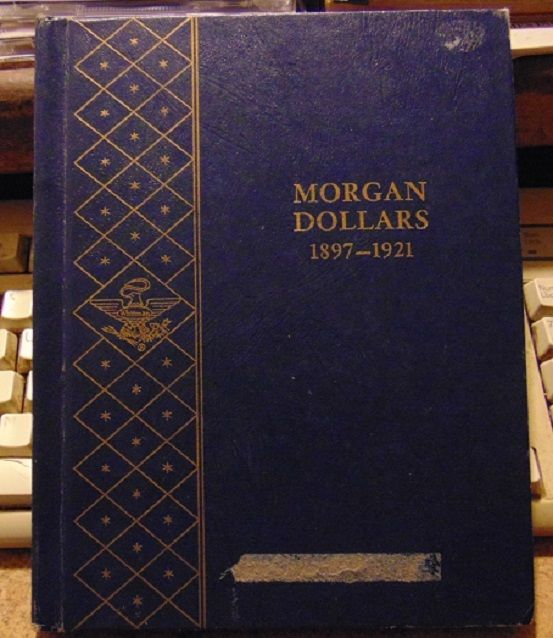 Morgan Dollars 1897-1921 - Whitman Coin Folder  #9429