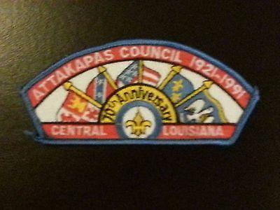 Attakapas Council 70th Anniversary 1921-1991 CSP