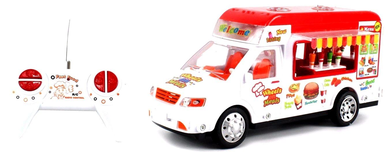 Mobile Food Electric RC Truck Restaurant Van 1:18 Scale Ready To Run RTR