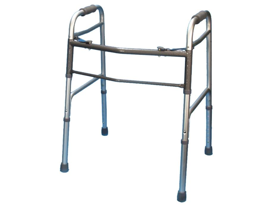 Folding Aluminum - Heavy Duty Walker