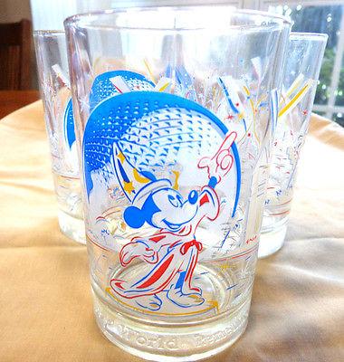 3 mickey mouse 25 yr celebration glasses