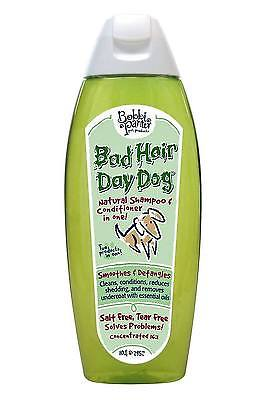 Bobbi Panter Bad Hair Day Dog 2 in 1 Natural Shampoo and Conditioner, 10 fl. oz.