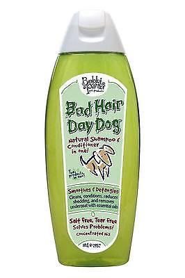 Bobbi Panter Bad Hair Day Dog 2 in 1 Natural Shampoo and Conditioner, 10 fl. oz.