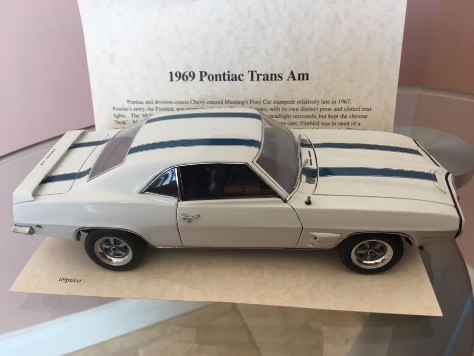 Danbury Mint 1:24 1969 Pontiac Trans Am