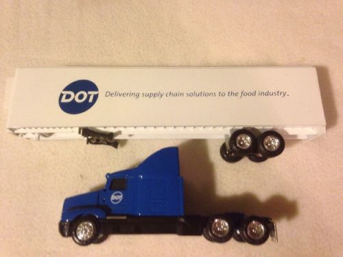 Ertl DOT Foods Blue Kenworth Cab Semi Truck 1/64 Scale Loose