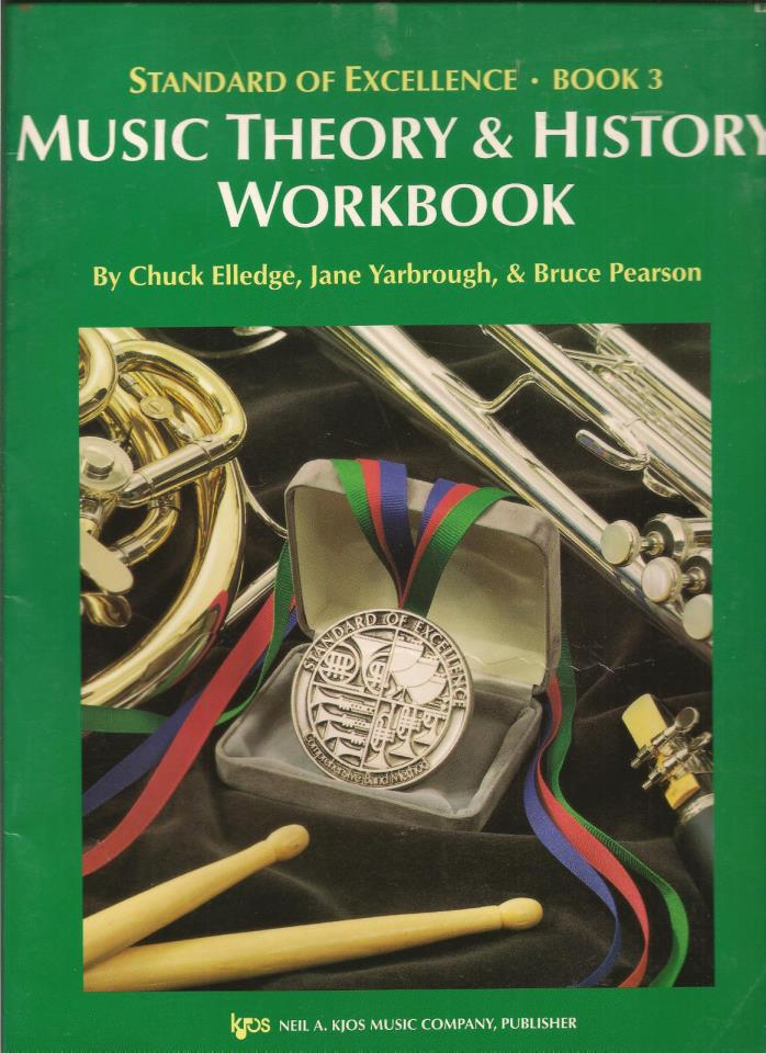 Standard of Excellence Book 3: Music Theory and History Workbook